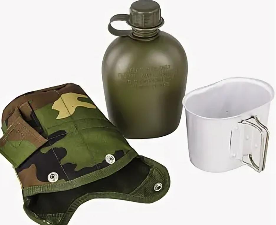 Армейская фляжка