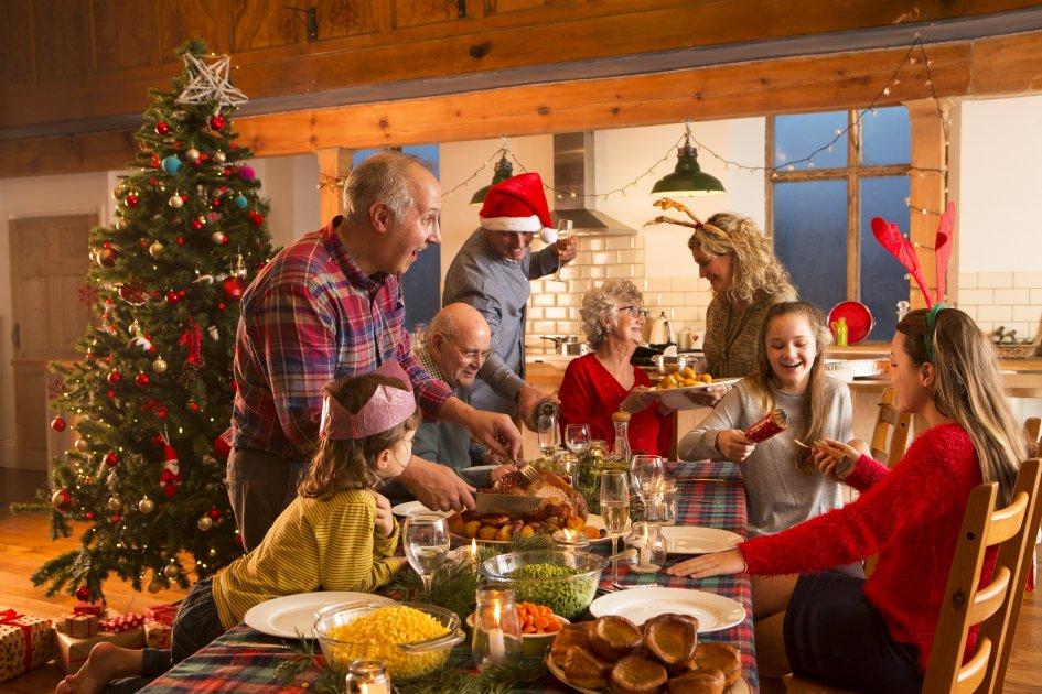 встреча Нового года дома